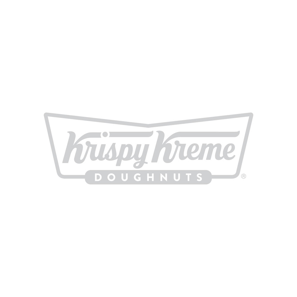 image of doughnut ring with vanilla cookie kreme frosting, topped with cookie crumbs