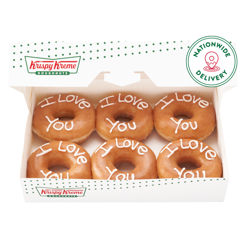 Say I Love You With Krispy Kreme Half Dozen