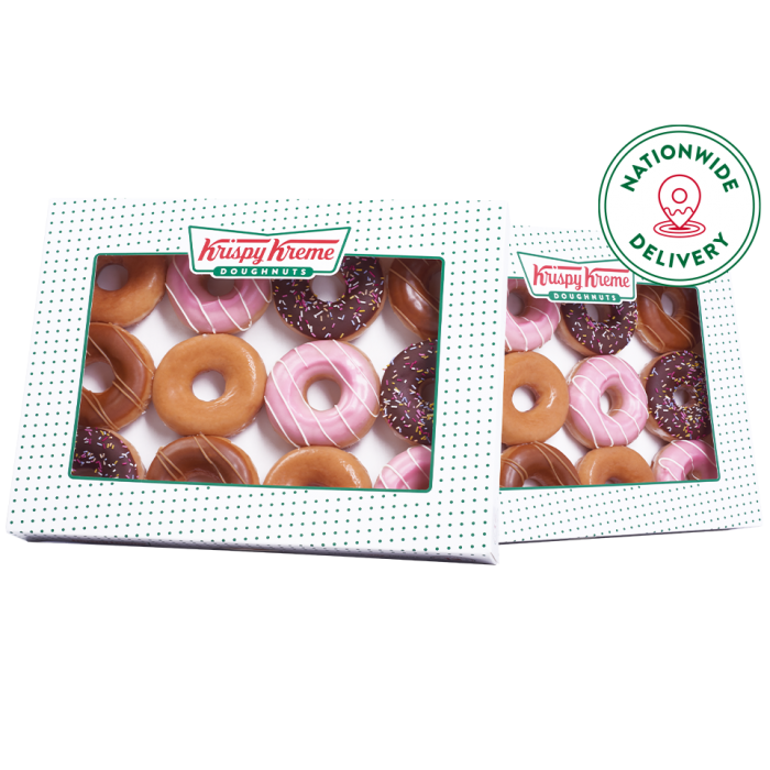 Assorted ring double dozen with nationwide delivery logo