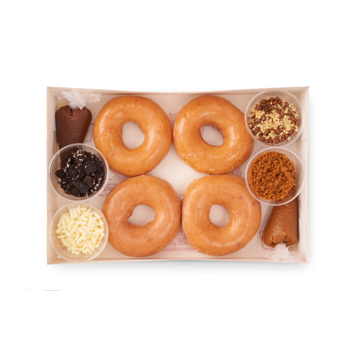 make your own doughnuts