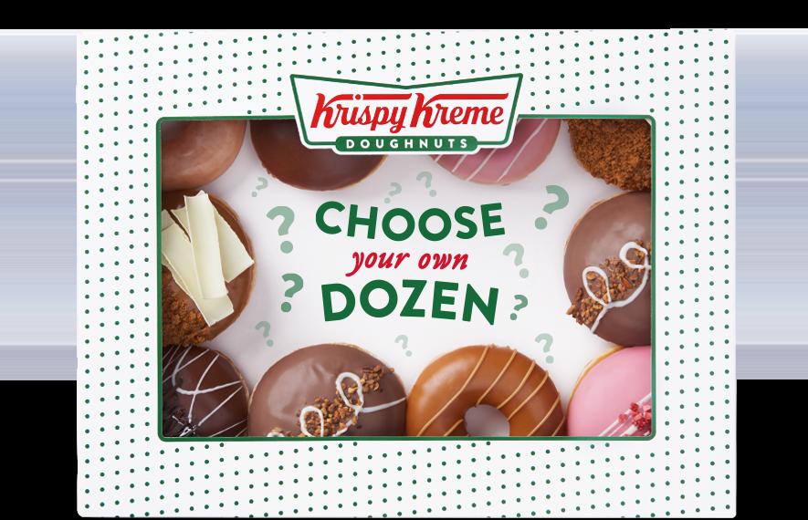 Krispy Kreme doughnut delivery